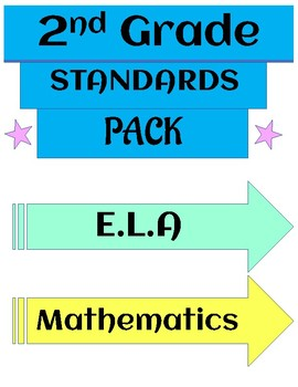 Grade 2 Standards for E.L.A and Mathematics