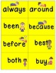 Grade 2 Super Sight Words Flash Cards & Word Wall Cards