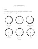 Grade 2 Telling Time Assessment