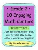 Grade 2 Ten Engaging Math Centers