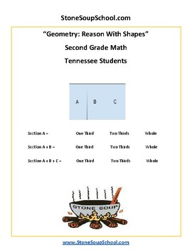 Grade 2 - Tennessee - Geometry - Common Core