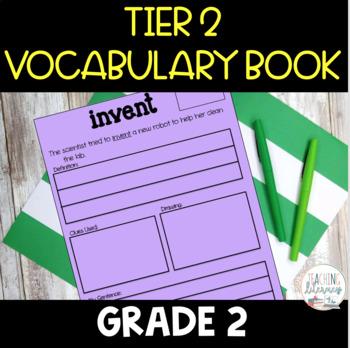 Tier 2 Vocabulary Journal - Grade 2
