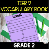 Tier 2 Vocabulary Book - Grade 2 - Context Clues - Common
