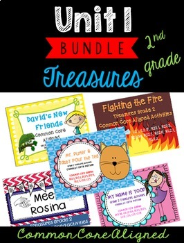 Grade 2 Treasures Unit 1 Bundle