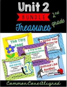 Grade 2 Treasures Unit 2 Bundle