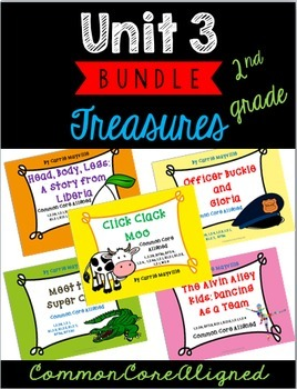 Grade 2 Treasures Unit 3 Bundle