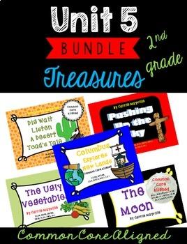 Grade 2 Treasures Unit 5 Bundle