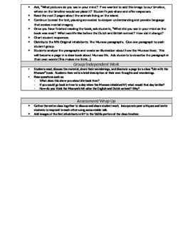 Grade 2- UNIT 2: NYC Social Studies Lesson Plans: NYC Over Time