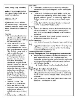 Grade 2 Unit 1 (Second Grade Reading Growth Spurt) Session 1-17
