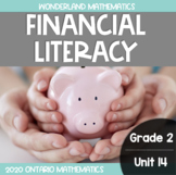 Grade 2, Unit 14: Financial Literacy (Wonderland Mathematics)