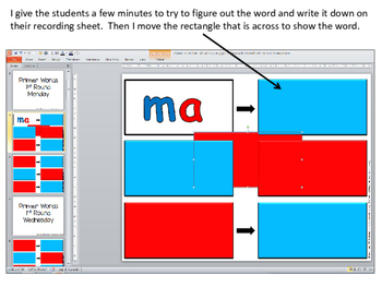 Grade 2 Unscramble Sight Word PowerPoint Puzzles