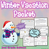 2nd Grade Winter Break Vacation Packet {CCSS Aligned}