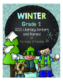 Grade 2 Winter Literacy Centers & Games