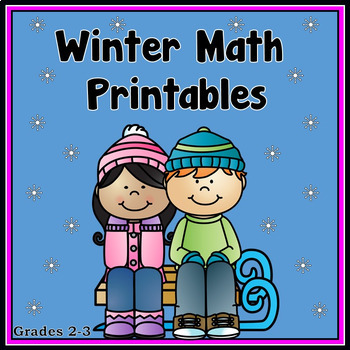 Winter Math Printables - Grades 2-3