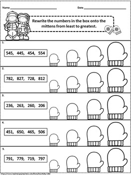 winter math printables grades 2 3 by sue kelly tpt. Black Bedroom Furniture Sets. Home Design Ideas