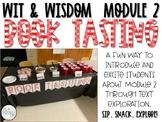 Grade 2 Wit & Wisdom - Module 2 - Book Tasting