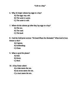 Grade 2 Wonder Works Program Unit 2 Week 3 Differentiated Questions