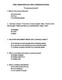 Grade 2 Wonder Works Program Unit 3 Week 3 Differentiated Questions