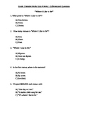 Grade 2 Wonder Works Program Unit 4 Week 5 Differentiated Questions