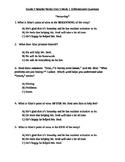 Grade 2 Wonder Works Program Unit 5 Week 1 Differentiated Questions