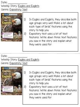 Grade 2 Wonders Reading Responses - Unit 2