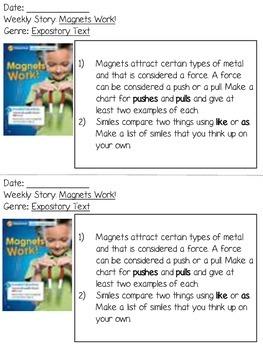 Grade 2 Wonders Reading Responses - Unit 3