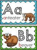 Grade 2 Word Wall: Animal Theme (Over 90 Words)