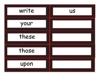 Grade 2 Word Wall Set