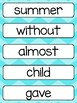 FREE Grade 2 Word Wall Words Printable