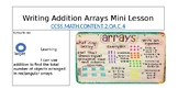 Grade 2 Writing Addition Sentences Using Arrays Mini-Lesson