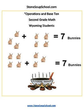 Grade 2 -  Wyoming - Operations and Base Ten - Common Core
