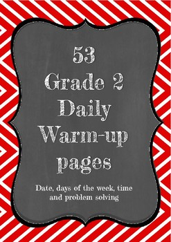 Grade 2 daily warm up pages