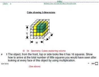 Grade 3: 100 level 4 (most CHALLENGING) problems (18 pgs)