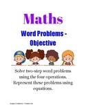 Grade 3 - 2 Steps Math Word Problems