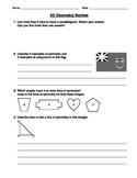 Grade 3 2D Geometry Review