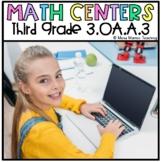 "Digital Math Center: Click and ""Chews"" Grade 3 OA.A.3"