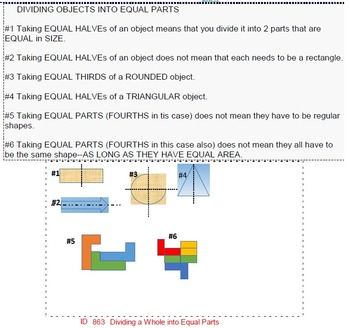 Grade 3 FRACTIONS UNIT 1: [Introduction to..] (4 worksheets & 6 quizzes)