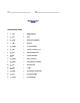 Grade 3 & 4 English - Vocabulary Worksheet - Letter E