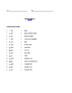 Grade 3 & 4 English - Vocabulary Worksheet - Letter G