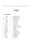 Grade 3 & 4 English - Vocabulary Worksheet - Letter N