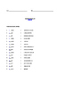Grade 3 & 4 English - Vocabulary Worksheet - Letter O