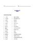 Grade 3 & 4 English - Vocabulary Worksheet - Letter W