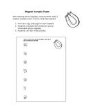Grade 3 - 4 Magnet Acrostic Poem