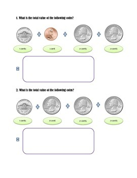 MATH WITH COINS