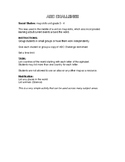 Grade 3 - 4 Social Studies ABC Challenge