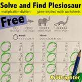 Grade 3 Math Worksheets Solve and Find