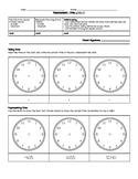 Grade 3&4 Time (Measurement) Quiz