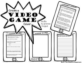 Video Game Cover Project  (Media Awareness)