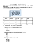 Grade 3-5 ACT Aspire Science Practice (Question Set #2)