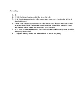 Grade 3-5 ACT Aspire Science Practice (Question Set #4)